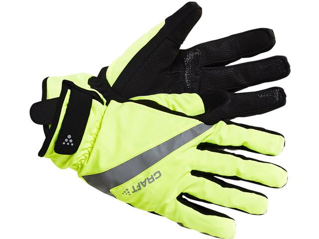 Craft Rain 2.0 Gloves Unisex flumino/black